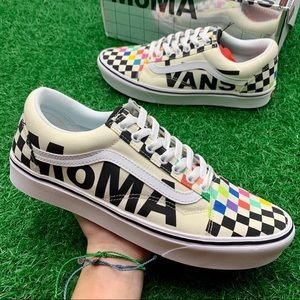 Vans Comfycush Old Skool Moma Brand Checkerboard